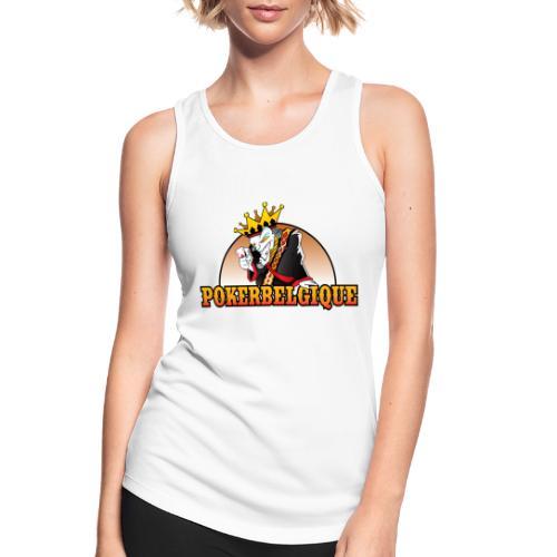 Logo Poker Belgique - Débardeur respirant Femme