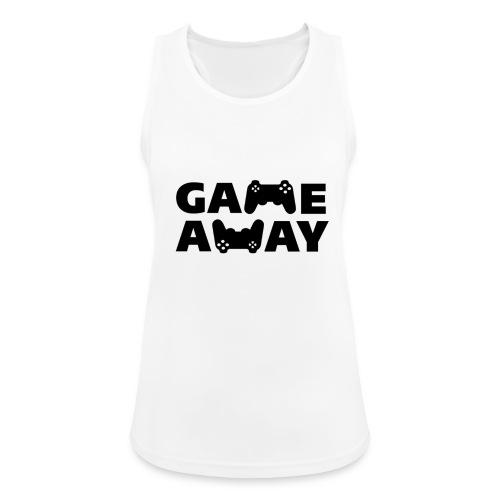 game away - Vrouwen tanktop ademend