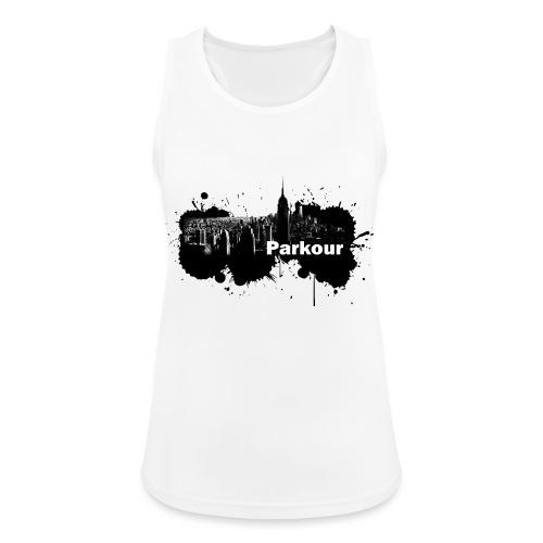 Parkour Splash New York - Dame tanktop åndbar