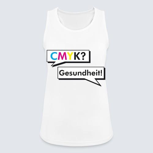 CMYK - Frauen Tank Top atmungsaktiv