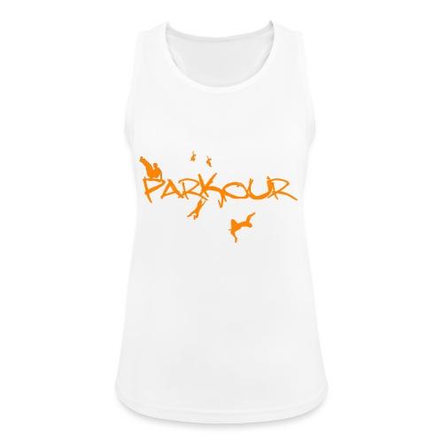 Parkour Orange - Dame tanktop åndbar