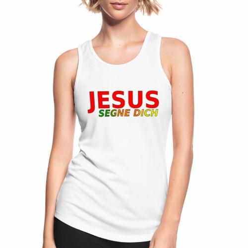 JESUS segne dich - bunt - Frauen Tank Top atmungsaktiv
