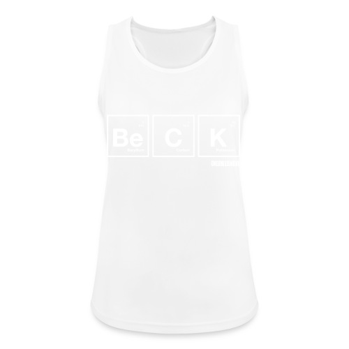 BeCK.png - Women's Breathable Tank Top