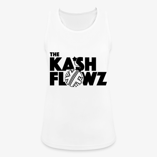 The Kash Flowz Official Bomb Black - Débardeur respirant Femme