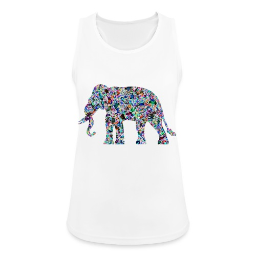 Elephant - Women's Breathable Tank Top