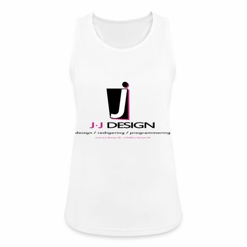 LOGO_J-J_DESIGN_FULL_for_ - Dame tanktop åndbar