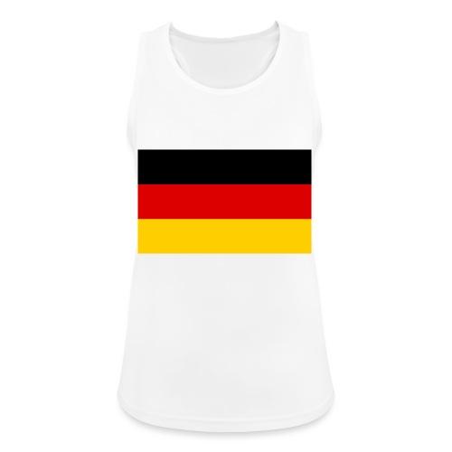 2000px Flag of Germany svg - Frauen Tank Top atmungsaktiv