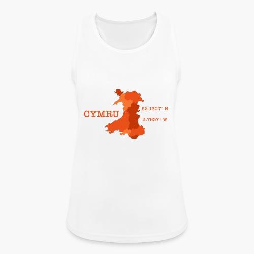 Cymru - Latitude / Longitude - Women's Breathable Tank Top