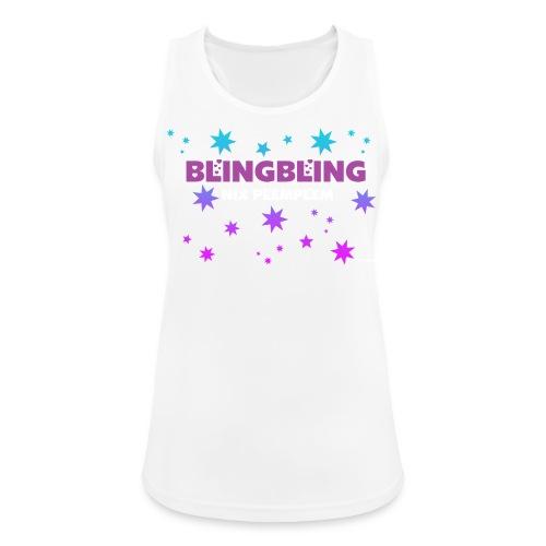 blingbling nixplemplem - Frauen Tank Top atmungsaktiv
