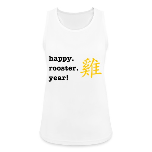 happy rooster year - Women's Breathable Tank Top