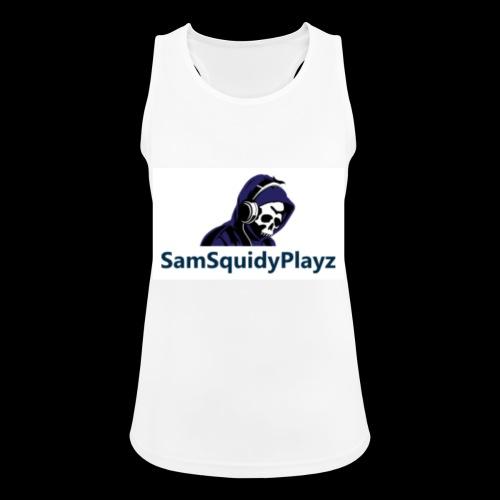 SamSquidyplayz skeleton - Women's Breathable Tank Top