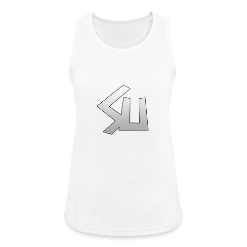 Plain SU logo - Women's Breathable Tank Top