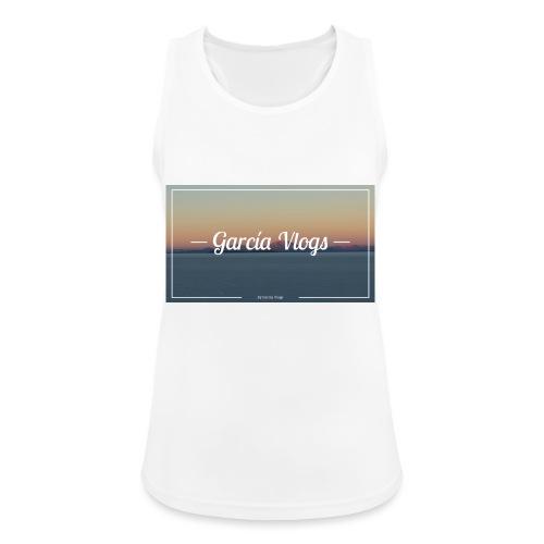 Garcíavlogs - Camiseta de tirantes transpirable mujer