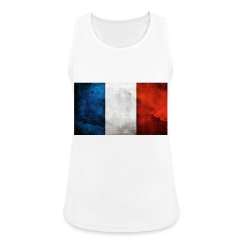 France Flag - Women's Breathable Tank Top