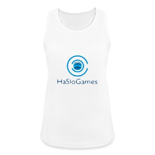HasloGames Producten officieel logo - Vrouwen tanktop ademend