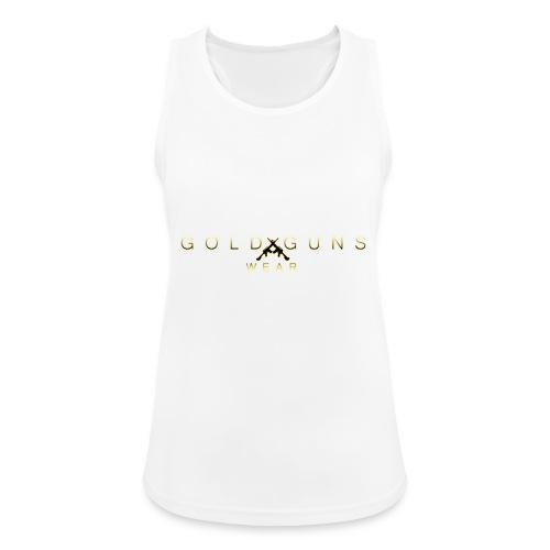 EDICIÓN GOLD GUNS WEAR - Camiseta de tirantes transpirable mujer