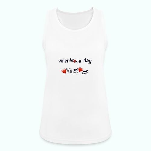 valenteens day - Frauen Tank Top atmungsaktiv