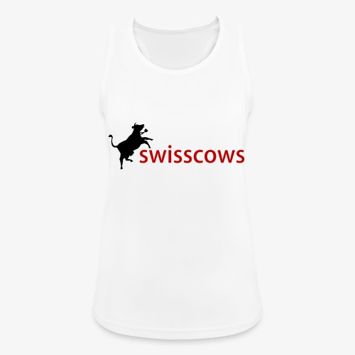 Swisscows Logo - Frauen Tank Top atmungsaktiv