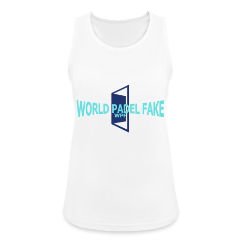 World Padel Fake Original - Camiseta de tirantes transpirable mujer