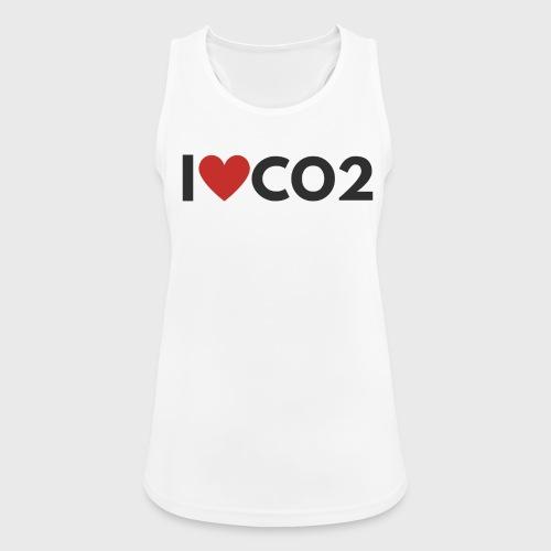 I LOVE CO2 - Naisten tekninen tankkitoppi