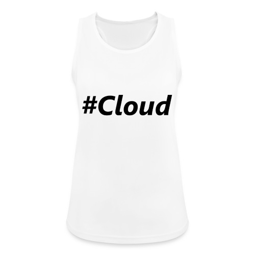 #Cloud black - Frauen Tank Top atmungsaktiv