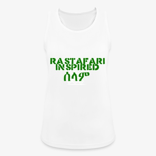 Inspired Rastafari - Women's Breathable Tank Top