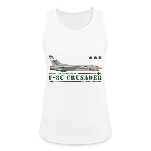 F-8C Crusader VMF-333 - Women's Breathable Tank Top