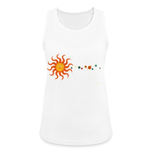 Solar System - Women's Breathable Tank Top