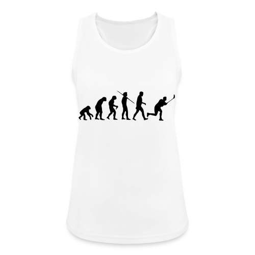 Floorball Evolution Black - Frauen Tank Top atmungsaktiv