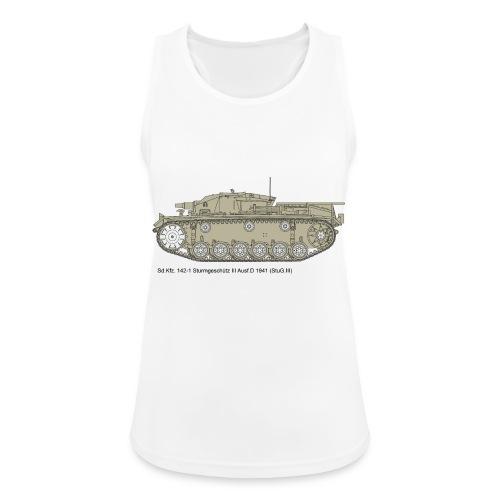 Stug III Ausf D. - Frauen Tank Top atmungsaktiv