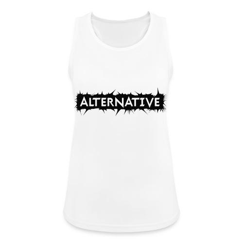 Spike T-shirt White - Tank top damski oddychający