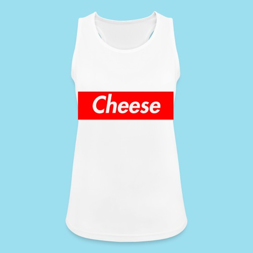 CHEESE Supmeme - Frauen Tank Top atmungsaktiv