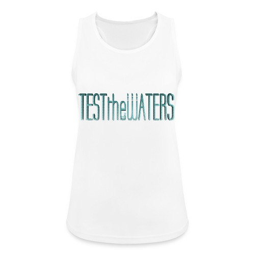 TESTtheWATERS BETA BLUE - Women's Breathable Tank Top