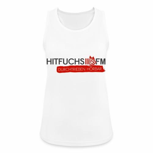 HitFuchs logo + slogan - Women's Breathable Tank Top