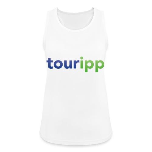 Touripp - Top da donna traspirante