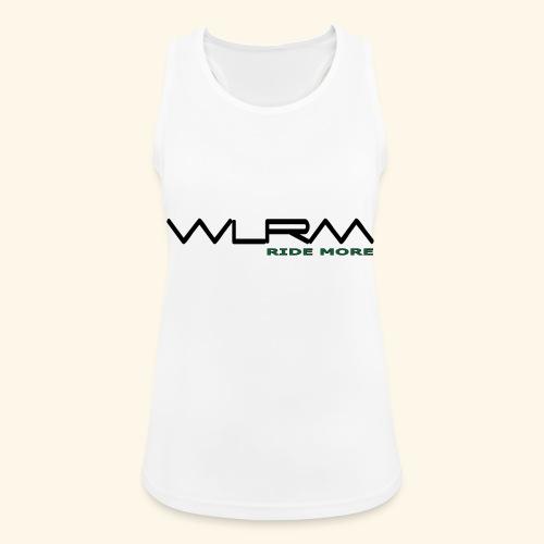WLRM Schriftzug black png - Frauen Tank Top atmungsaktiv