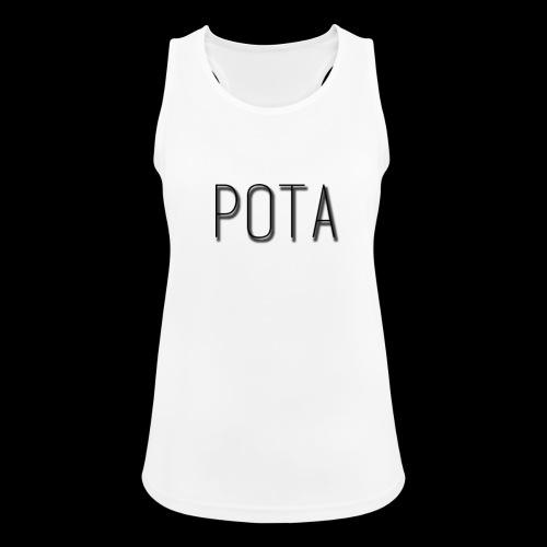 pota2 - Top da donna traspirante