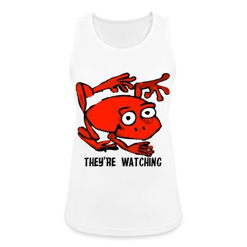 red frog - Top da donna traspirante