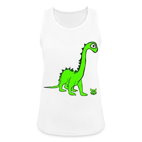 dinosauro - Top da donna traspirante
