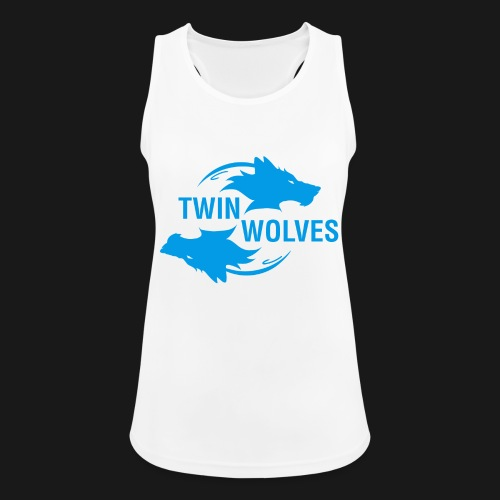Twin Wolves Studio - Top da donna traspirante