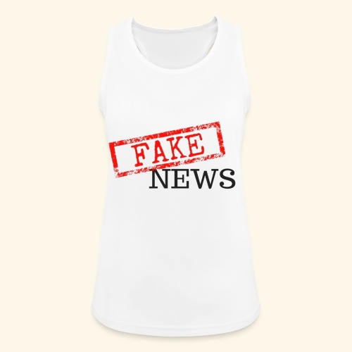 fake news - Women's Breathable Tank Top