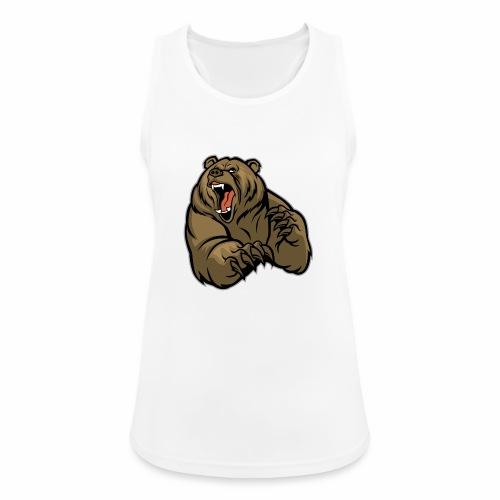 méchant grizzli - Débardeur respirant Femme