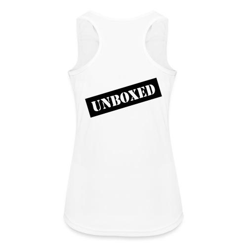 Get UNBOXED now!! by Brilliant Voices - Frauen Tank Top atmungsaktiv