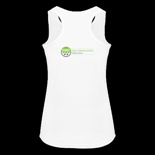 ElektroMobilitätsClub Logo - Frauen Tank Top atmungsaktiv