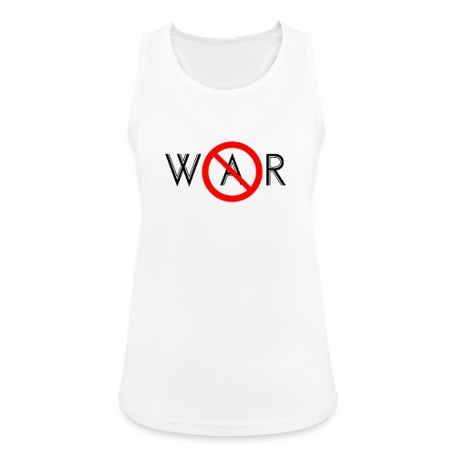 TIAN GREEN - No War - Frauen Tank Top atmungsaktiv