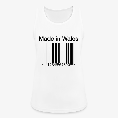Made in Wales - Women's Breathable Tank Top