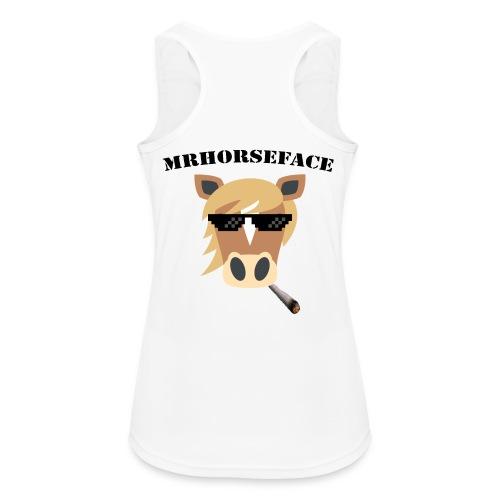 MrHorseFace - Vrouwen tanktop ademend actief