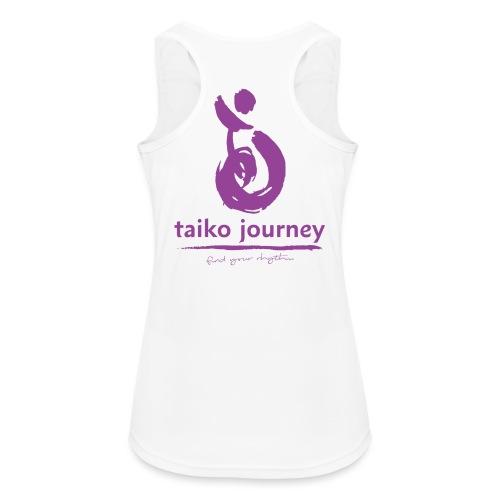 Taiko Journey PURPLE RHYTHM - Women's Breathable Tank Top
