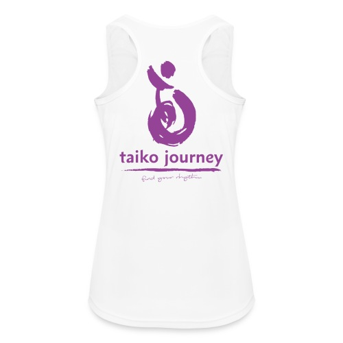 Taiko Journey PURPLE RHYTHM - Women's Breathable Tank Top