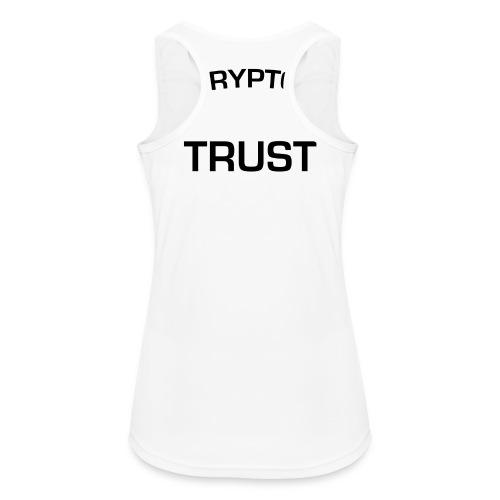 In Crypto we trust - Vrouwen tanktop ademend